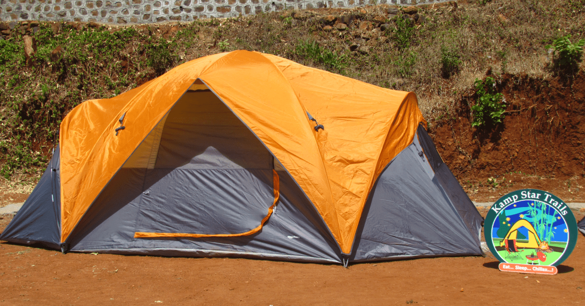 6 bedded tent